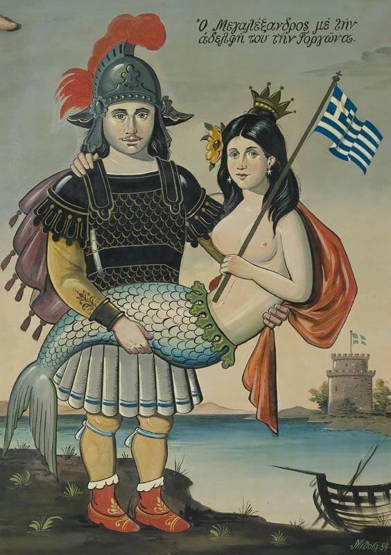 Η γοργόνα Θεσσαλονίκη