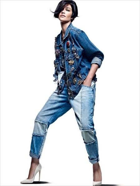 Boyfriend / Baggy Jeans.