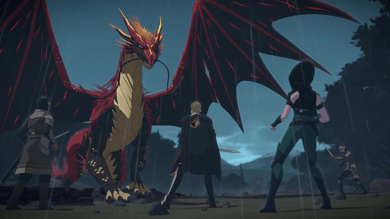 """""""The Dragon Prince"""" / Netflix"""