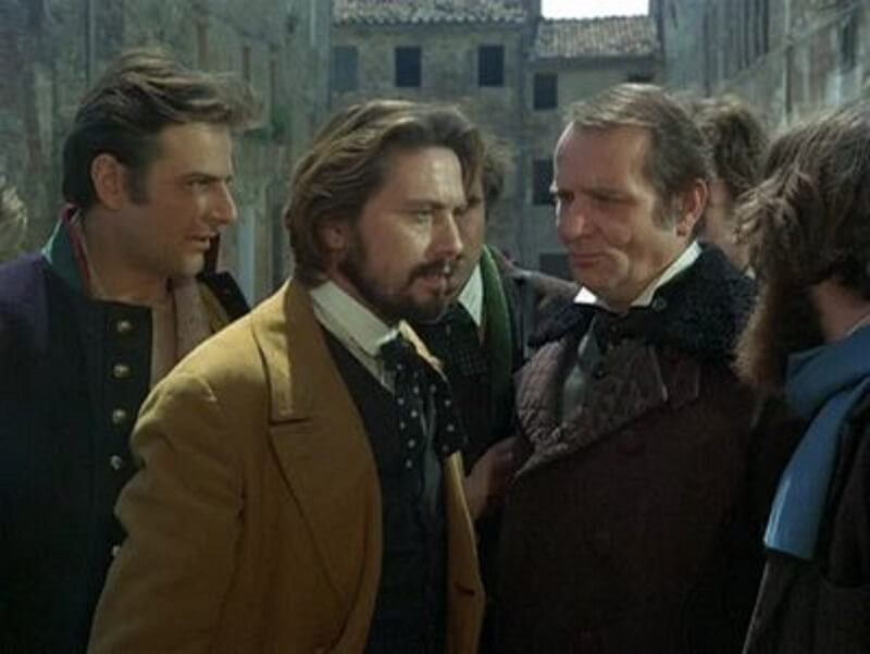 Ο Μανιέρι μαζί με τους συντρόφους του