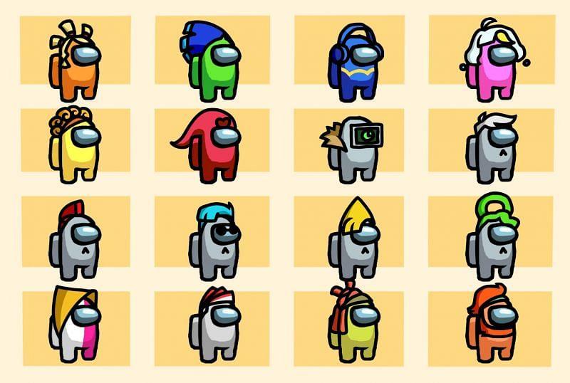Μερικοί από τους χαρακτήρες του παιχνιδιού