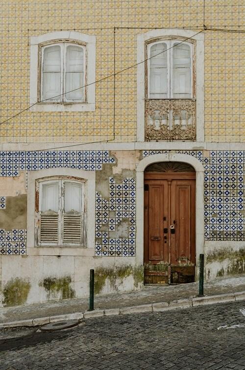 Σπασμένα azulejos