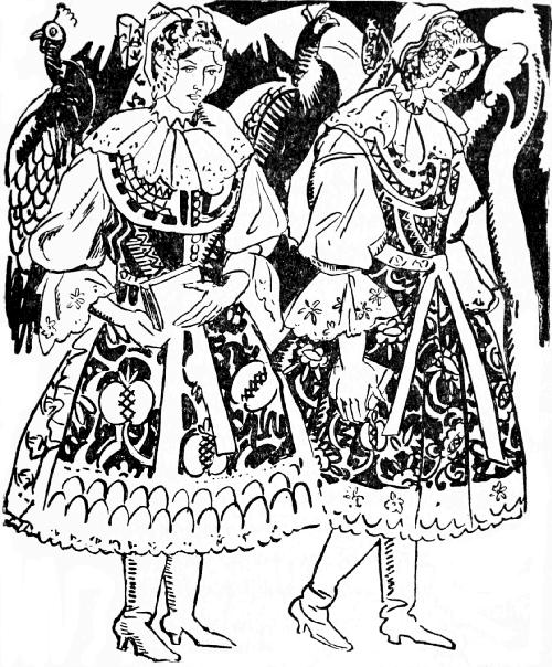 Jan Matulka, Marushka & Holena, Οι Δώδεκα Μήνες