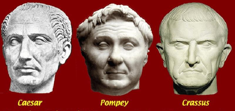 CaesarPompeyCrassus