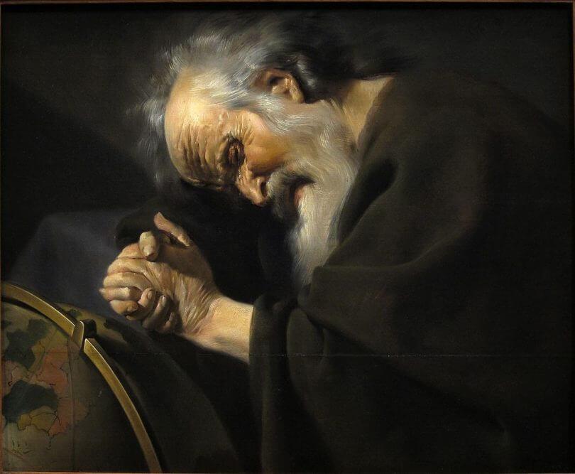 «Προσέγγιση με αγωνιώδη αμφισβήτηση» γράφοντας για τη φιλοσοφία»      Ηράκλειτος(544-484 π.Χ., Ίων φιλόσοφο)