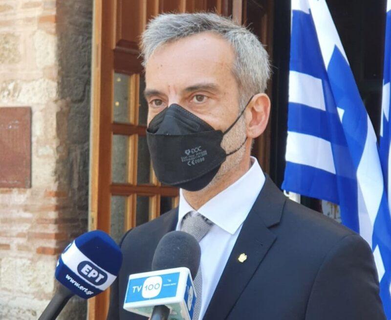 Ο Δήμαρχος Θεσσαλονίκης Κωνσταντίνος Ζέρβας
