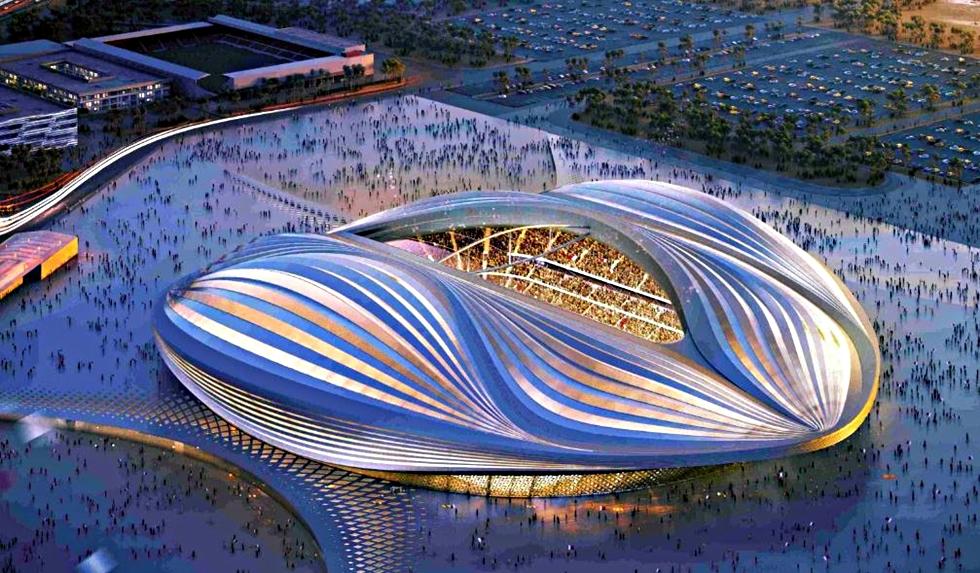 Το γήπεδο Αλ Ουάκρα που σχεδίασε η Ζάχα Χαντίντ