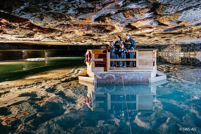 Η εμπειρία στο εσωτερικό του ορυχείου είναι οπωσδήποτε εντυπωσιακή.