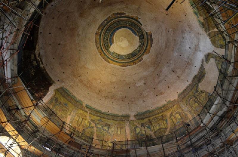 Οι τρεις ζώνες του θόλου, Ροτόντα, Θεσσαλονίκη