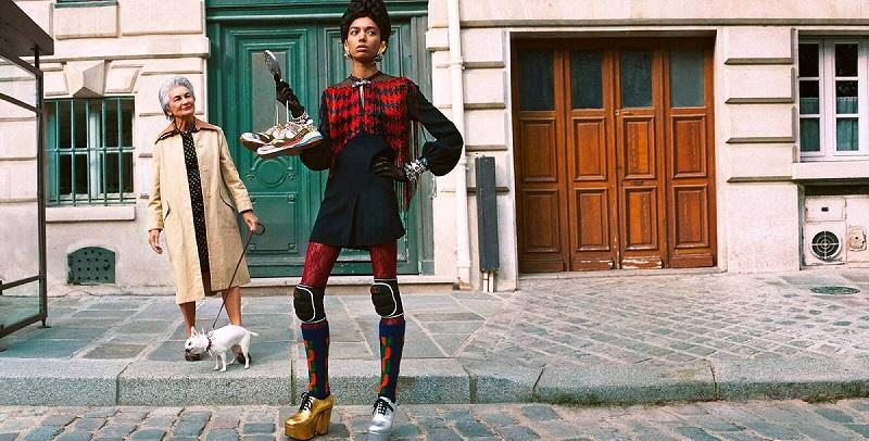 Από την καμπάνια του οίκου Gucci για την συλλογή FW 2019.