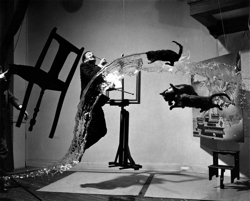 Philippe Halsman - Dali Atomicus, 1948