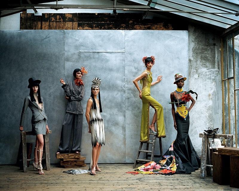Vogue US, Απρίλιος 1997, φωτογράφος Peter Lindbergh.